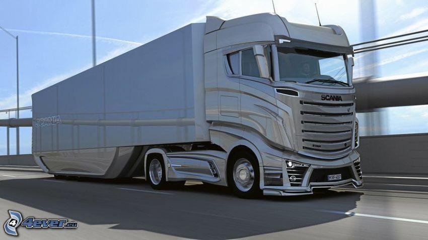 Scania virtual tuning