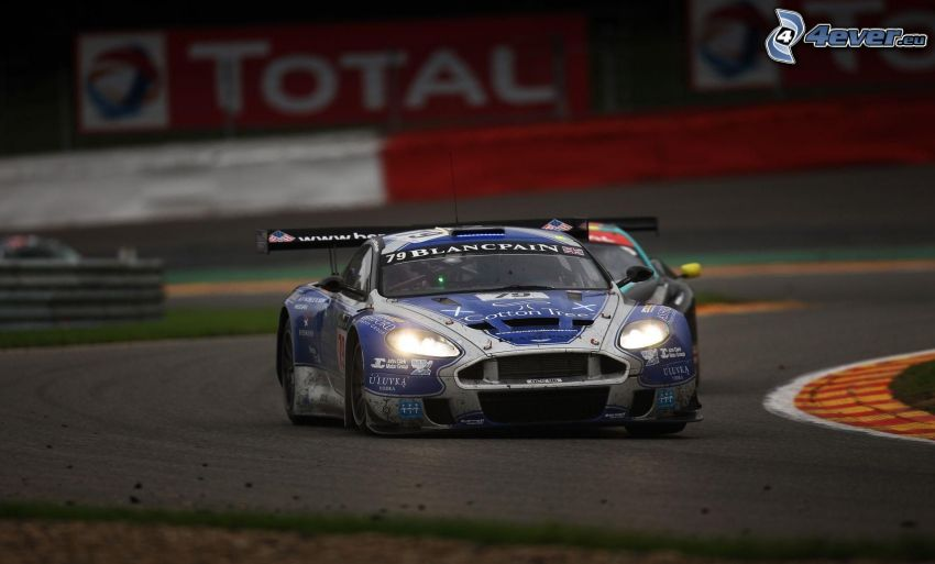 Aston Martin, coche de carreras, carreras en circuito