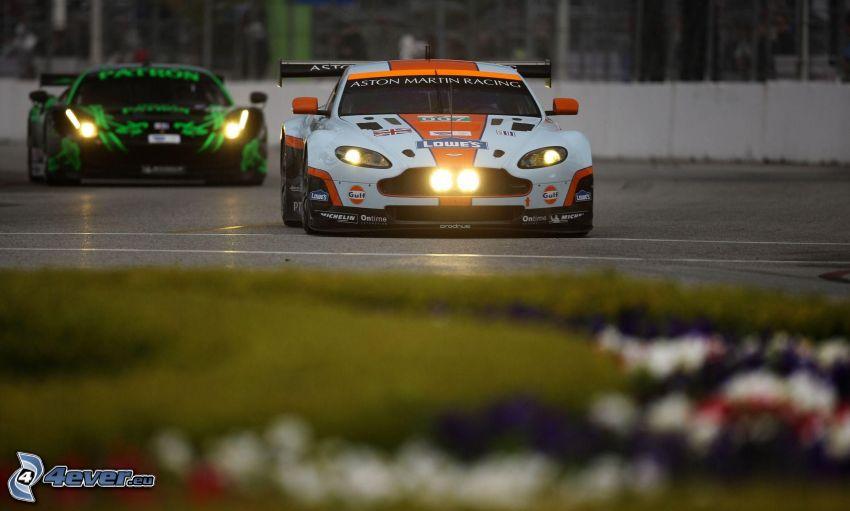 Aston Martin, coche de carreras