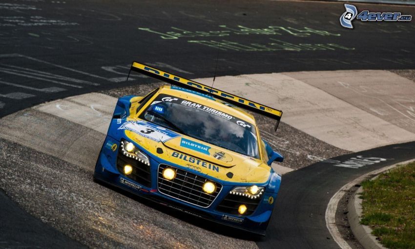 Audi Gran Turismo, carreras en circuito