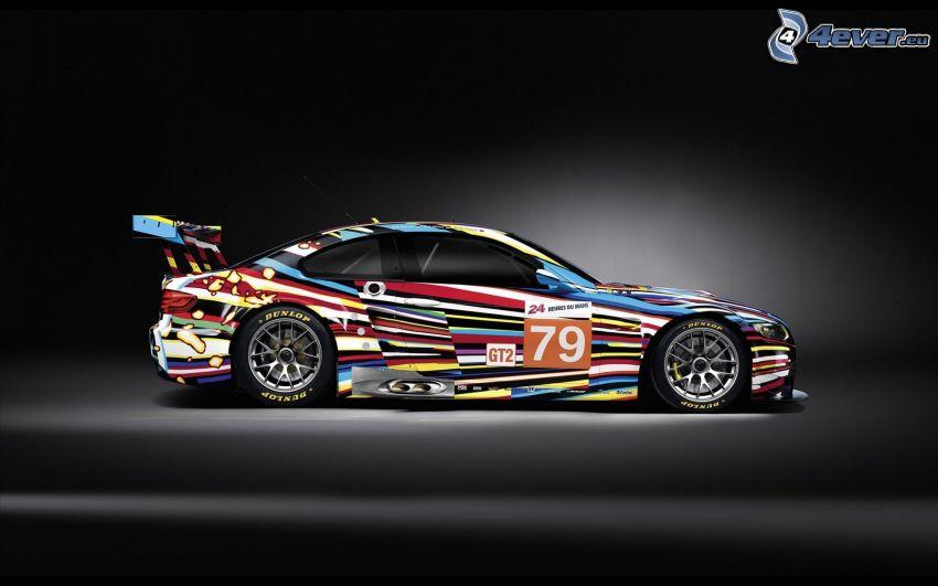 BMW, coche de carreras