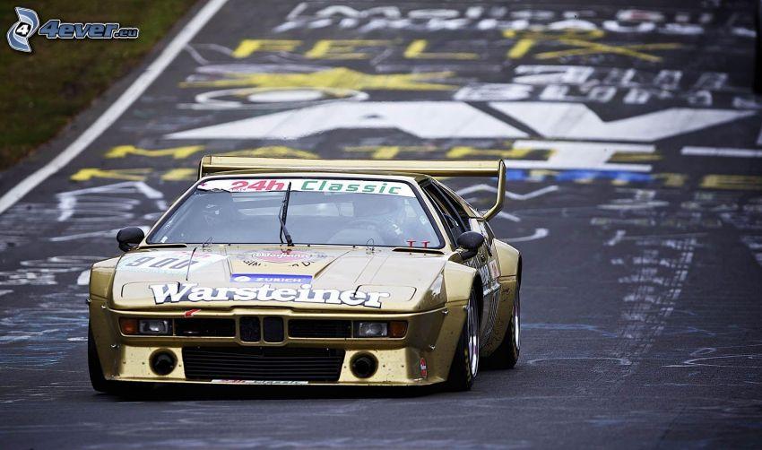 BMW M1, coche de carreras