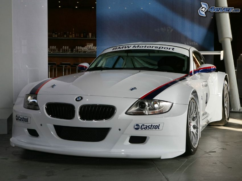 BMW Z4M Coupé, coche de carreras