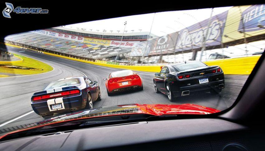 carreras, carreras en circuito