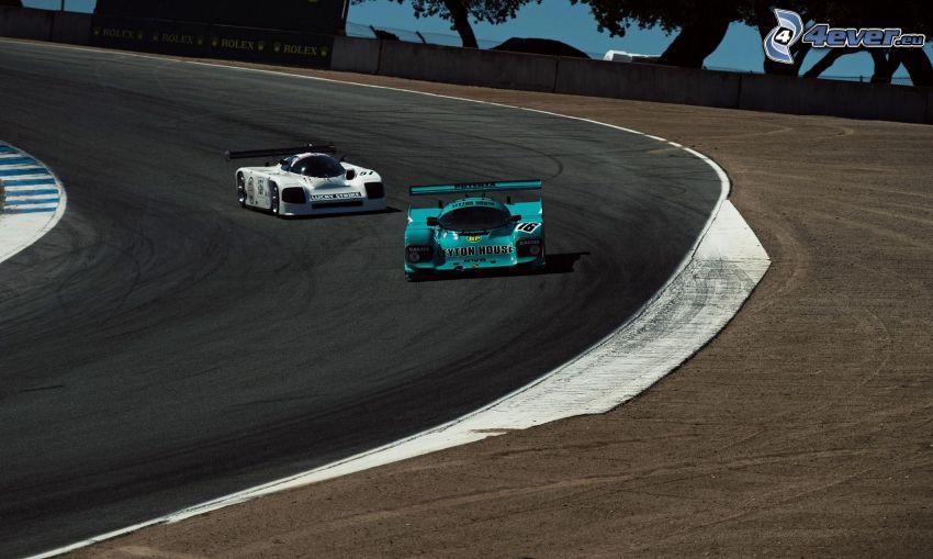 carreras, coche de carreras, carreras en circuito