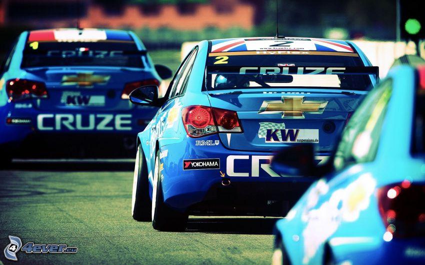 Chevrolet Cruze, coche de carreras
