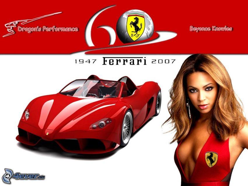Ferrari, Beyoncé Knowles, coche