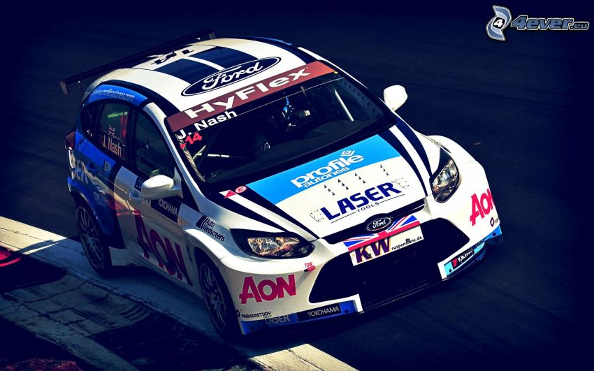 Ford Focus, coche de carreras