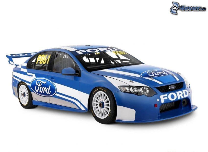 Ford V8, coche de carreras