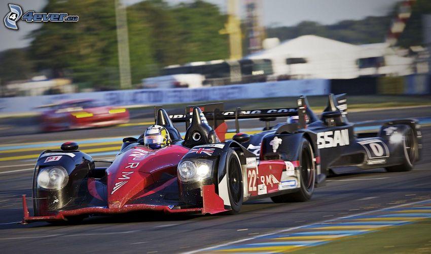 fórmula, acelerar, carreras en circuito