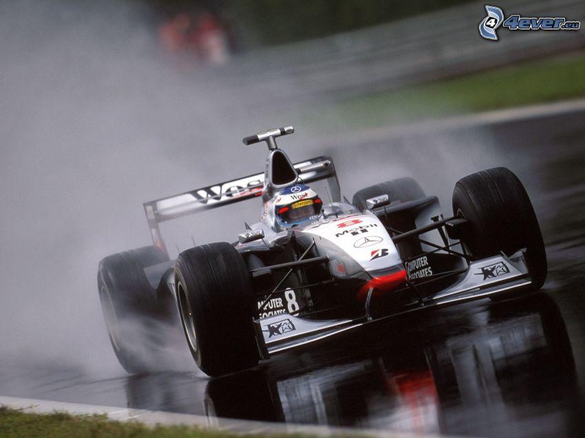fórmula, vapor, carreras en circuito