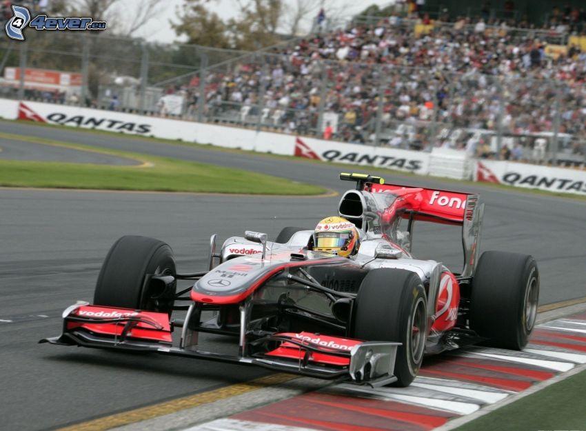 Fórmula 1, carreras en circuito