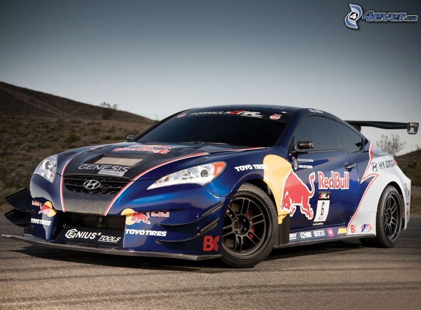 Hyundai Genesis, coche de carreras