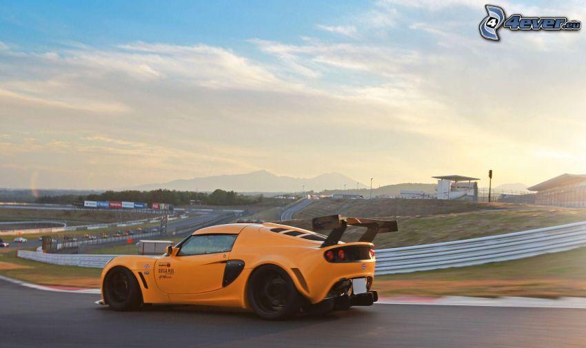 Lotus Exige, acelerar