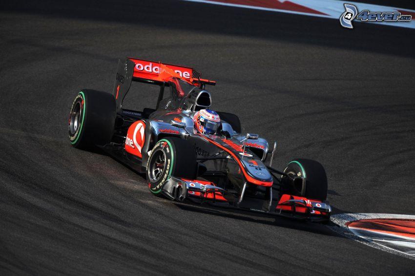 McLaren F1, monoposto