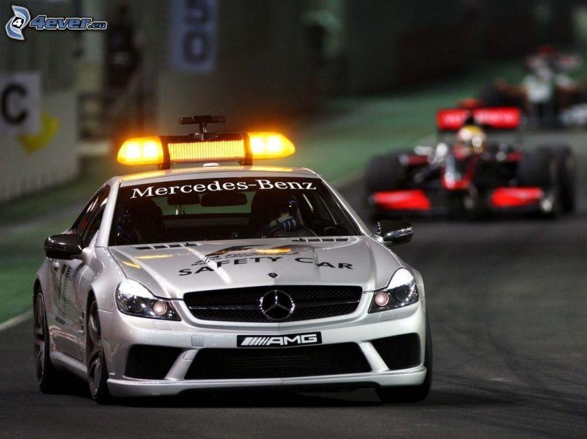 Mercedes-Benz, fórmula, carreras en circuito