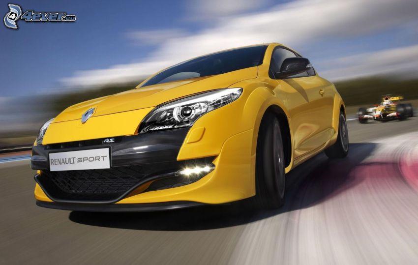 Renault Mégane, carreras en circuito, fórmula, acelerar