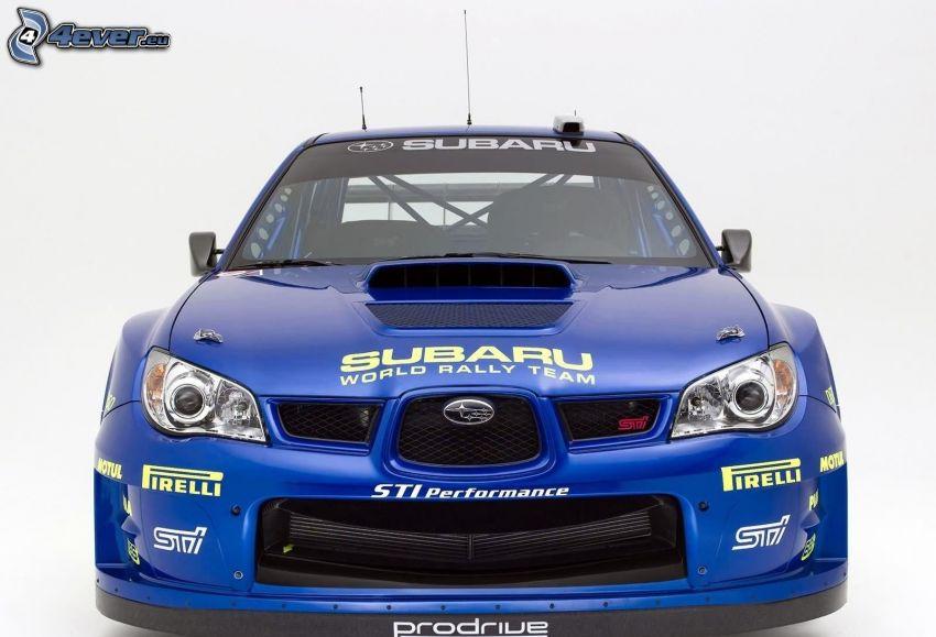 Subaru Impreza, coche de carreras