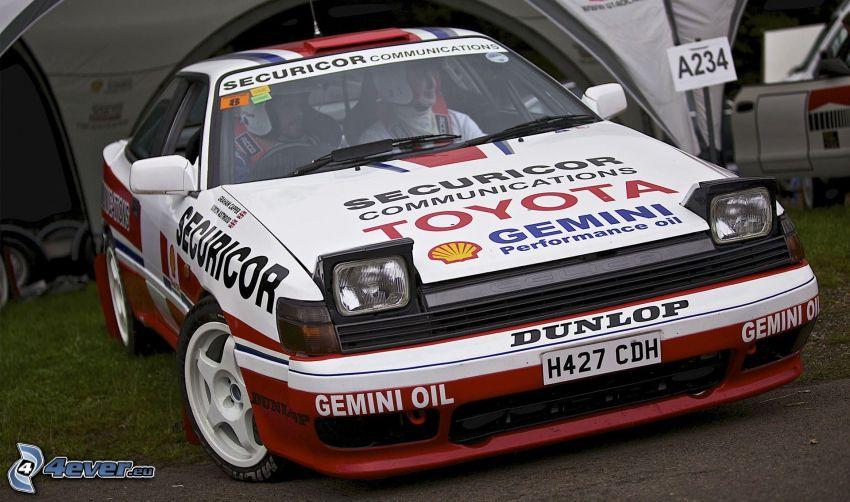 Toyota, coche de carreras