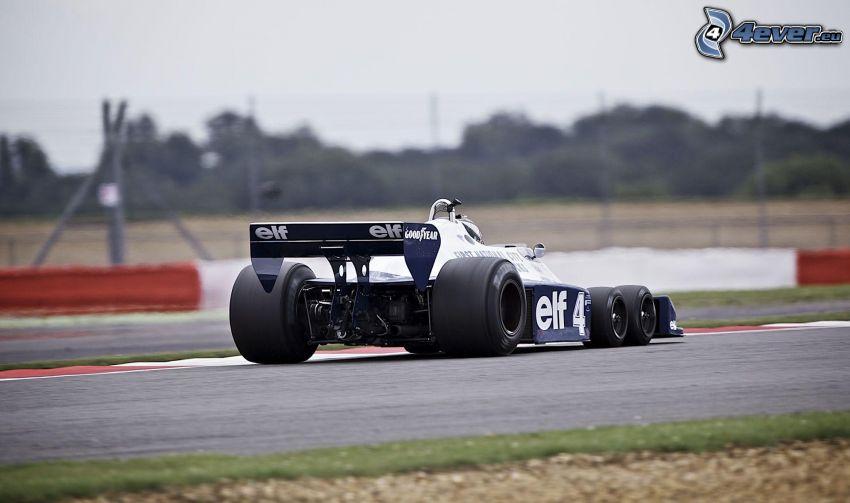 Tyrrell P34, coche de carreras, carreras en circuito