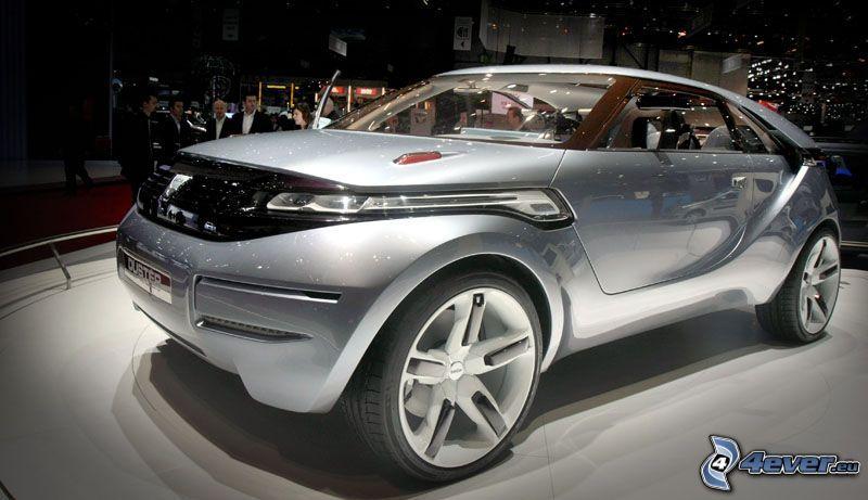 coche, exposición de automóviles en Ginebra