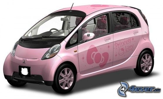 coche, Hello Kitty