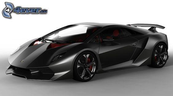 coche, Lamborghini, estilo