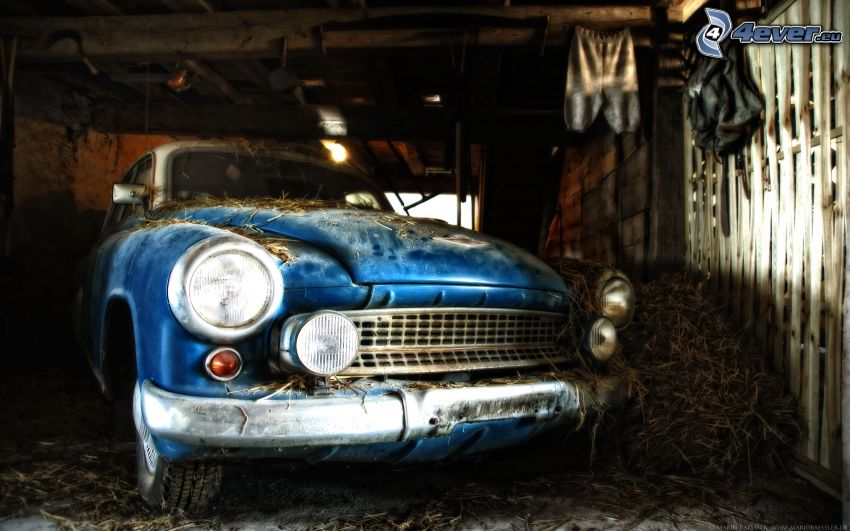 coche viejo, veterano