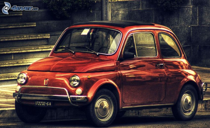 Fiat 500, HDR
