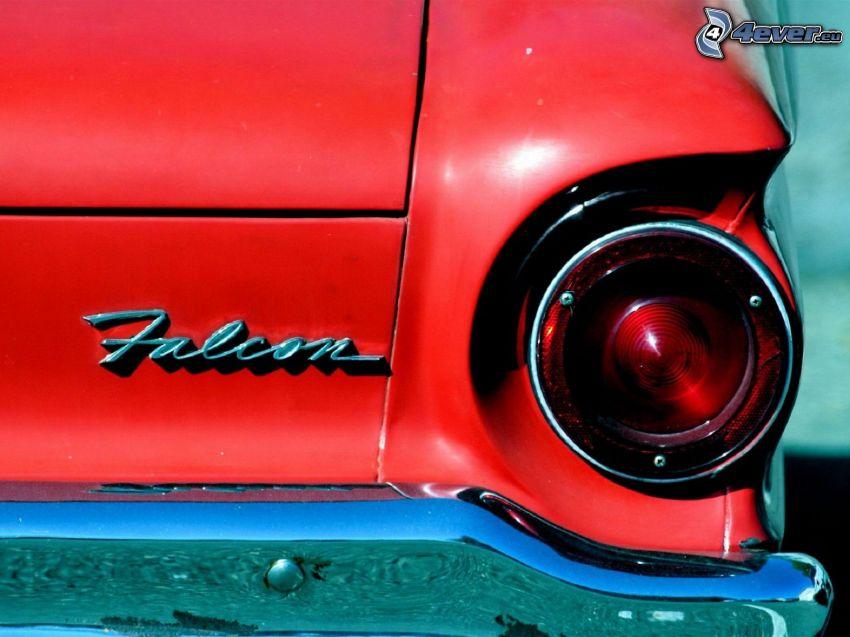 Ford Falcon XB, veterano, luz trasera