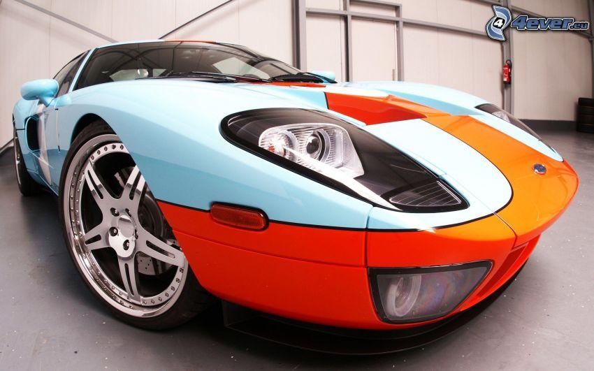Ford GT40, delantera de coche, disco