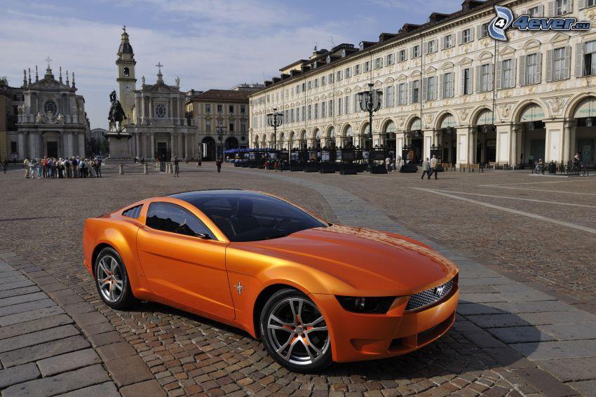 Ford Mustang Giugiaro, plaza