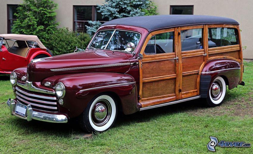 Ford Woody, veterano
