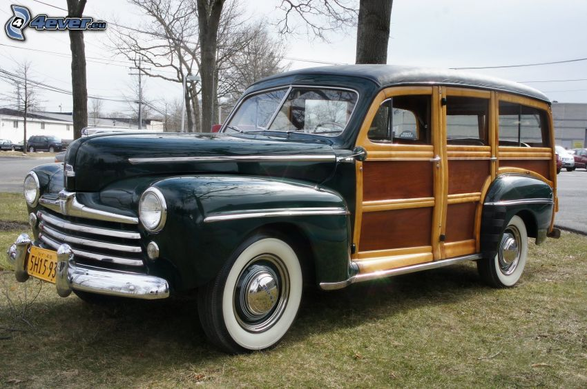 Ford Woody, veterano