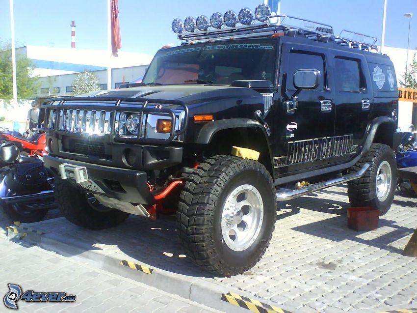Hummer H2, monster truck