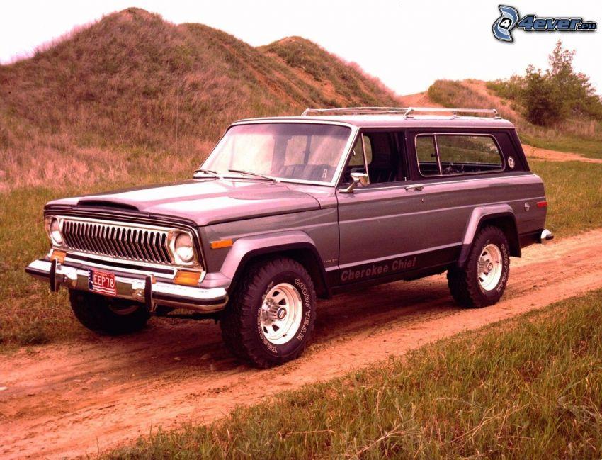 Jeep Cherokee, coche todoterreno