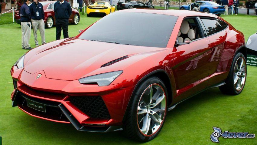 Lamborghini Urus, exposición