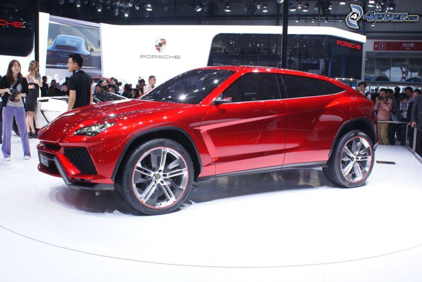 Lamborghini Urus, Motor Show, exposición