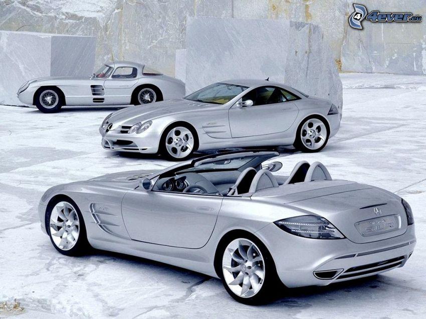 Mercedes-Benz, hielo