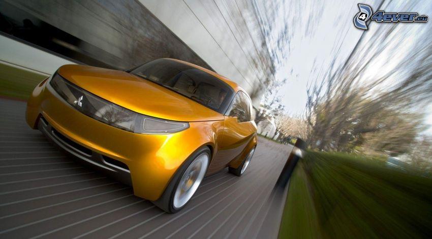 Mitsubishi, concepto, acelerar