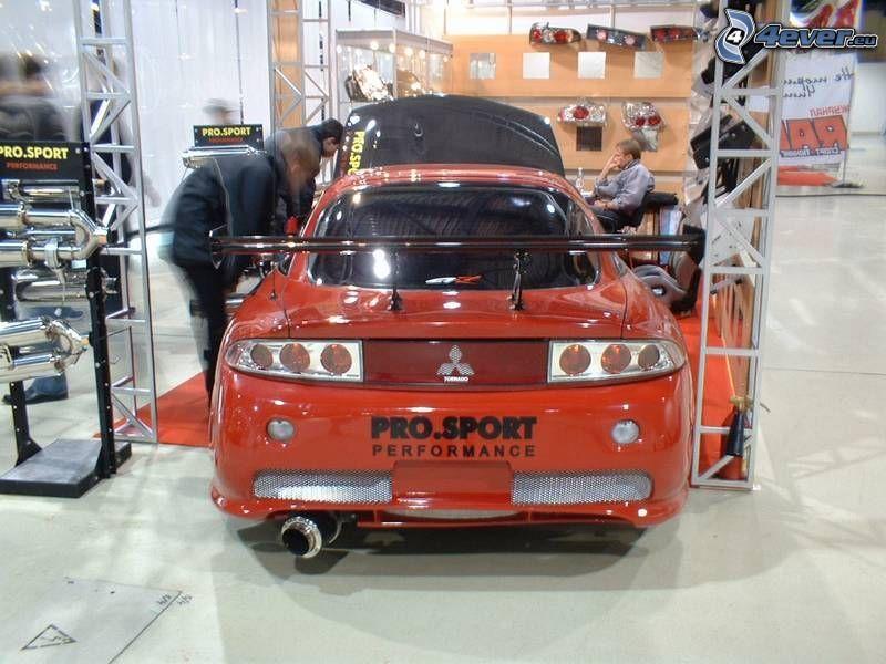 Mitsubishi Eclipse, tuning, coche