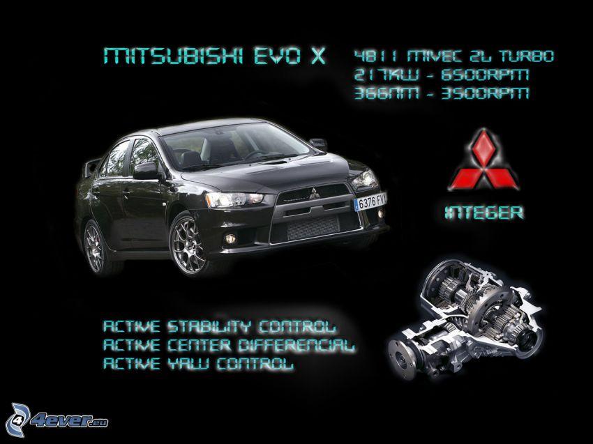 Mitsubishi Lancer Evolution, coche