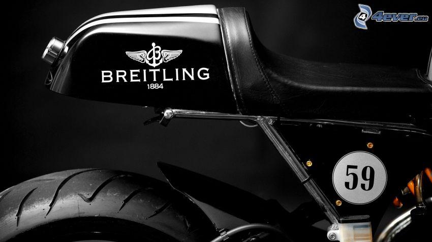 motocicleta, asiento