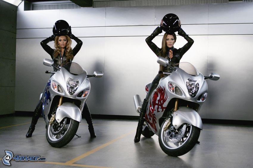 motos, Beyoncé Knowles, Jennifer Lopez