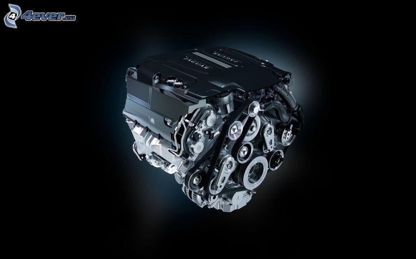 motor, Jaguar XF