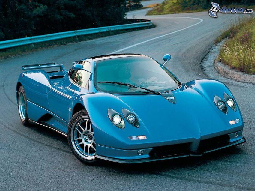 Pagani Zonda, coche deportivo
