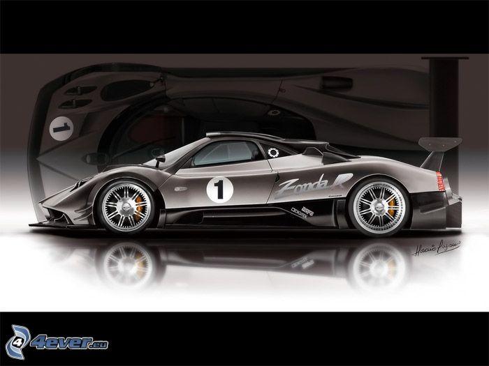 Pagani Zonda, coche supersport