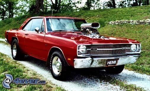 Plymouth Hemi, Big Block, Muscle Car