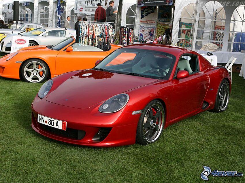Ruf RK Coupe, exposición