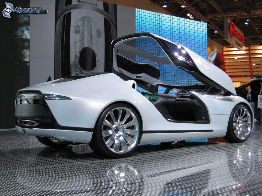 Saab Aero X, exposición, Motor Show